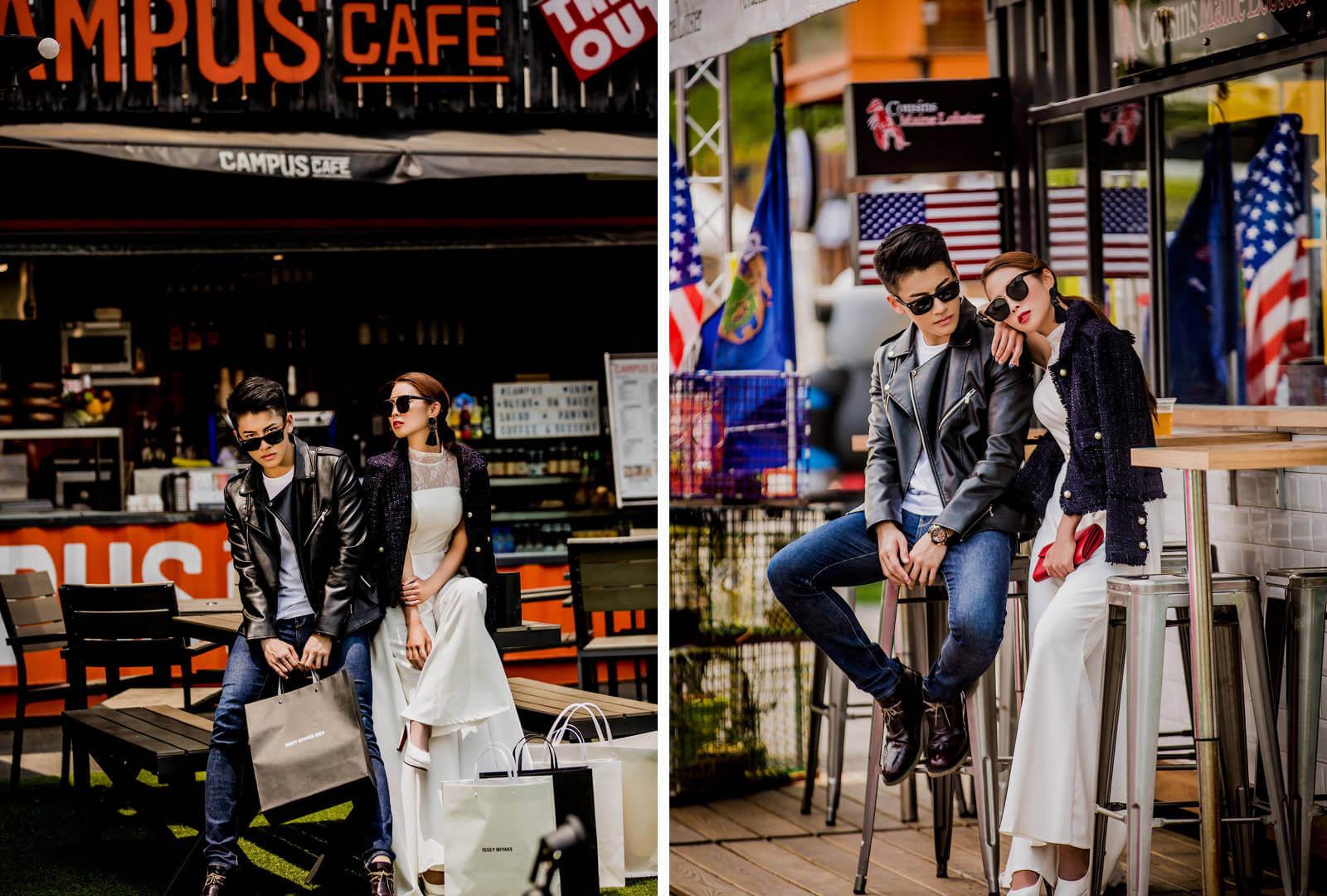 城市婚紗旅拍怎麼拍?帝芬妮婚紗一次刷新眼球視覺的盛宴