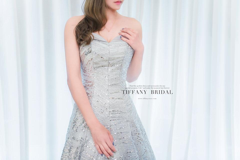 婚紗禮服/台中帝芬妮婚紗/最新禮服/新款禮服/手工訂製婚紗07