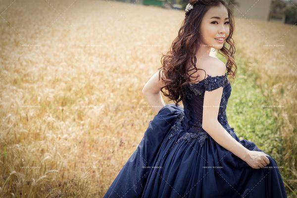 特色風格婚紗-金黃色麥田讓你的婚紗照與眾不同