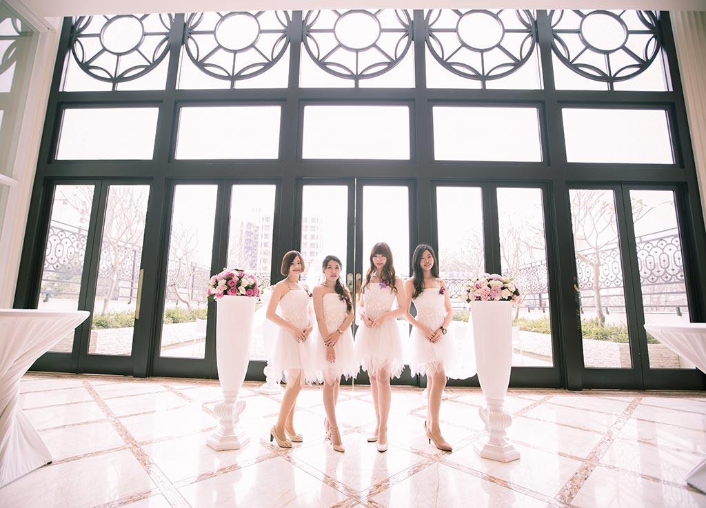 婚禮攝影-伴娘