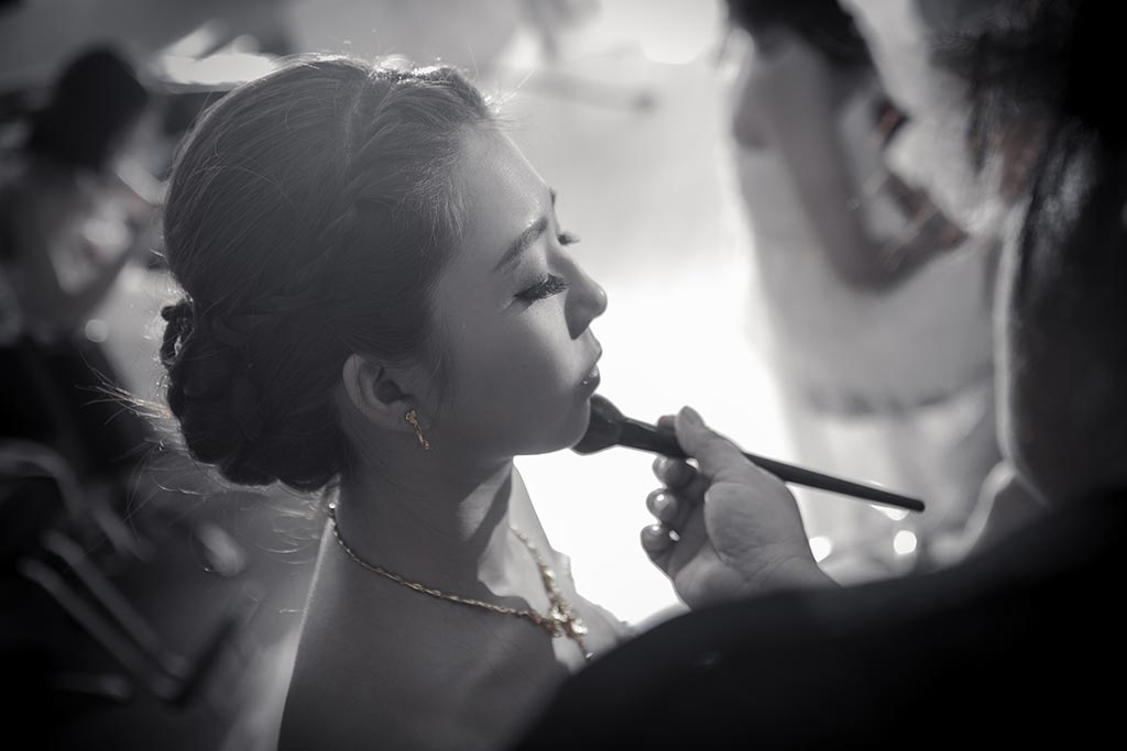 婚禮紀錄攝影-新娘梳妝-新娘秘書