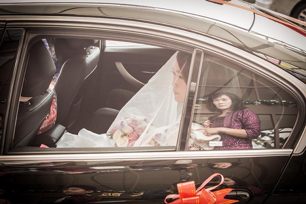婚禮攝影-禮車