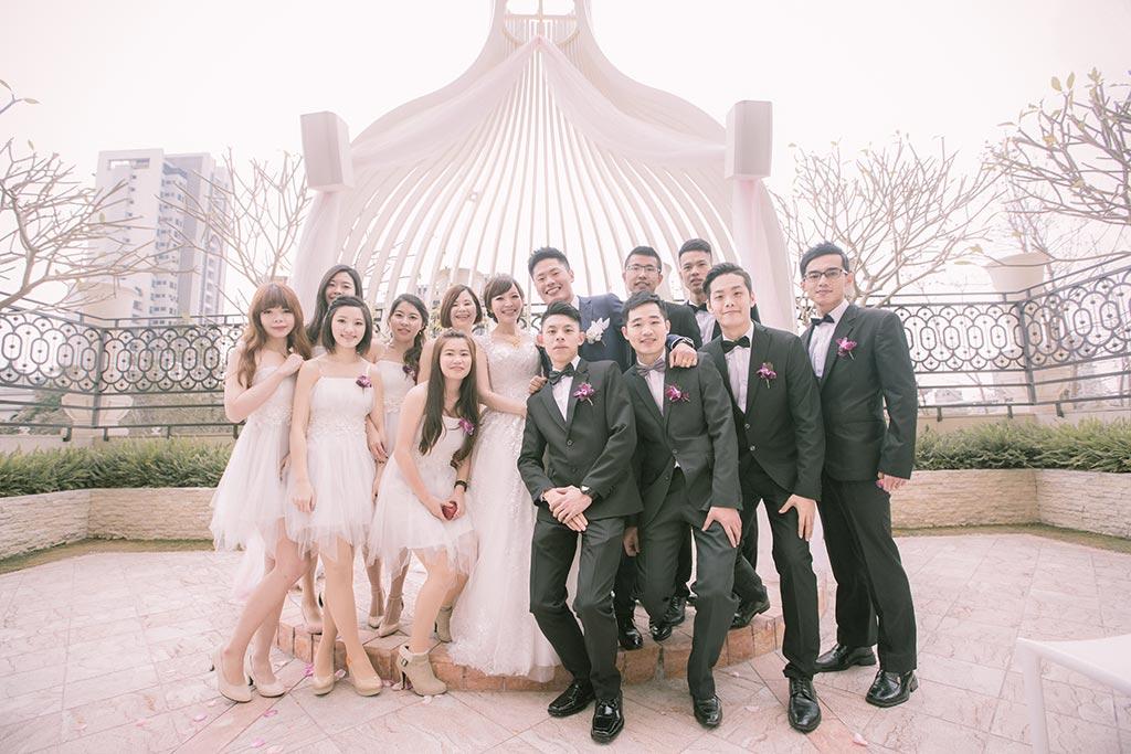 婚禮攝影-伴郎伴娘