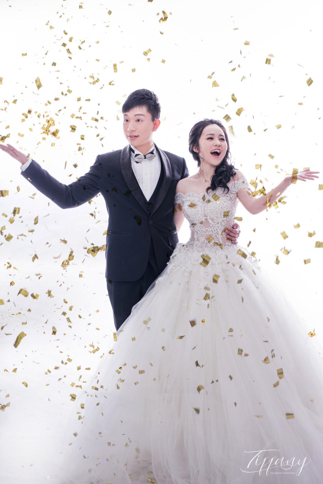 純色系婚紗照-白