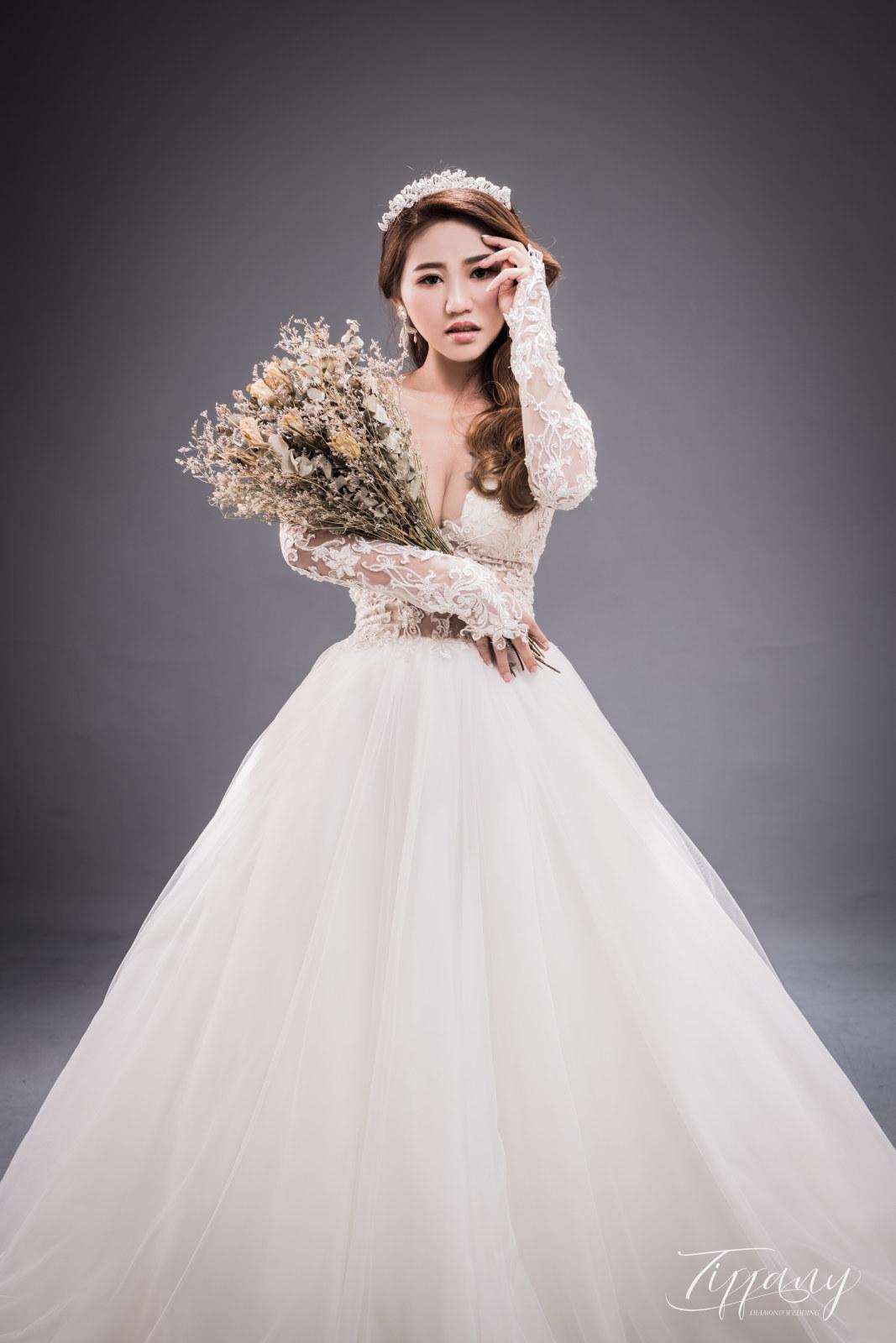 純色系婚紗之灰
