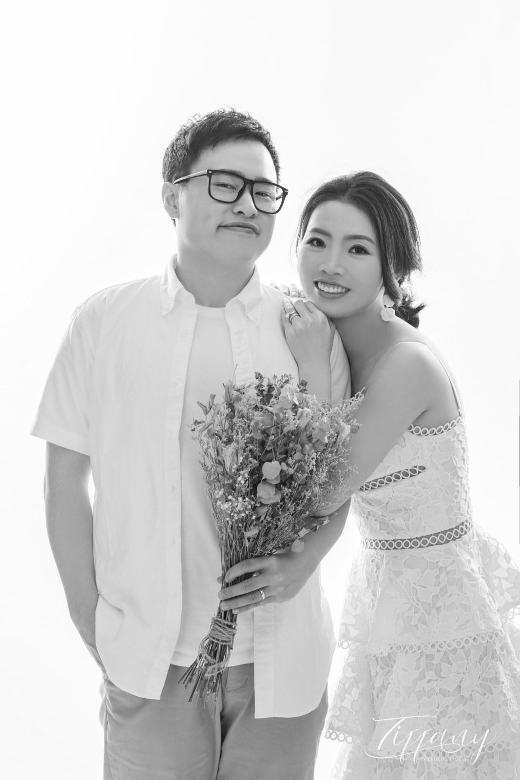 純色系婚紗之黑白精典照