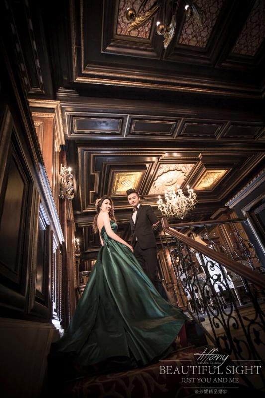 老英格蘭城堡婚紗-台中帝芬妮婚紗