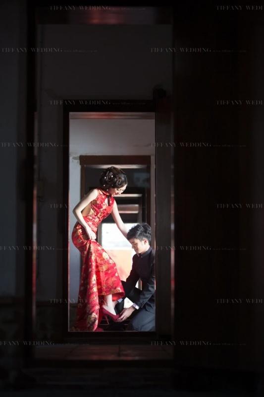 台中古厝婚紗照景點-張家祖廟