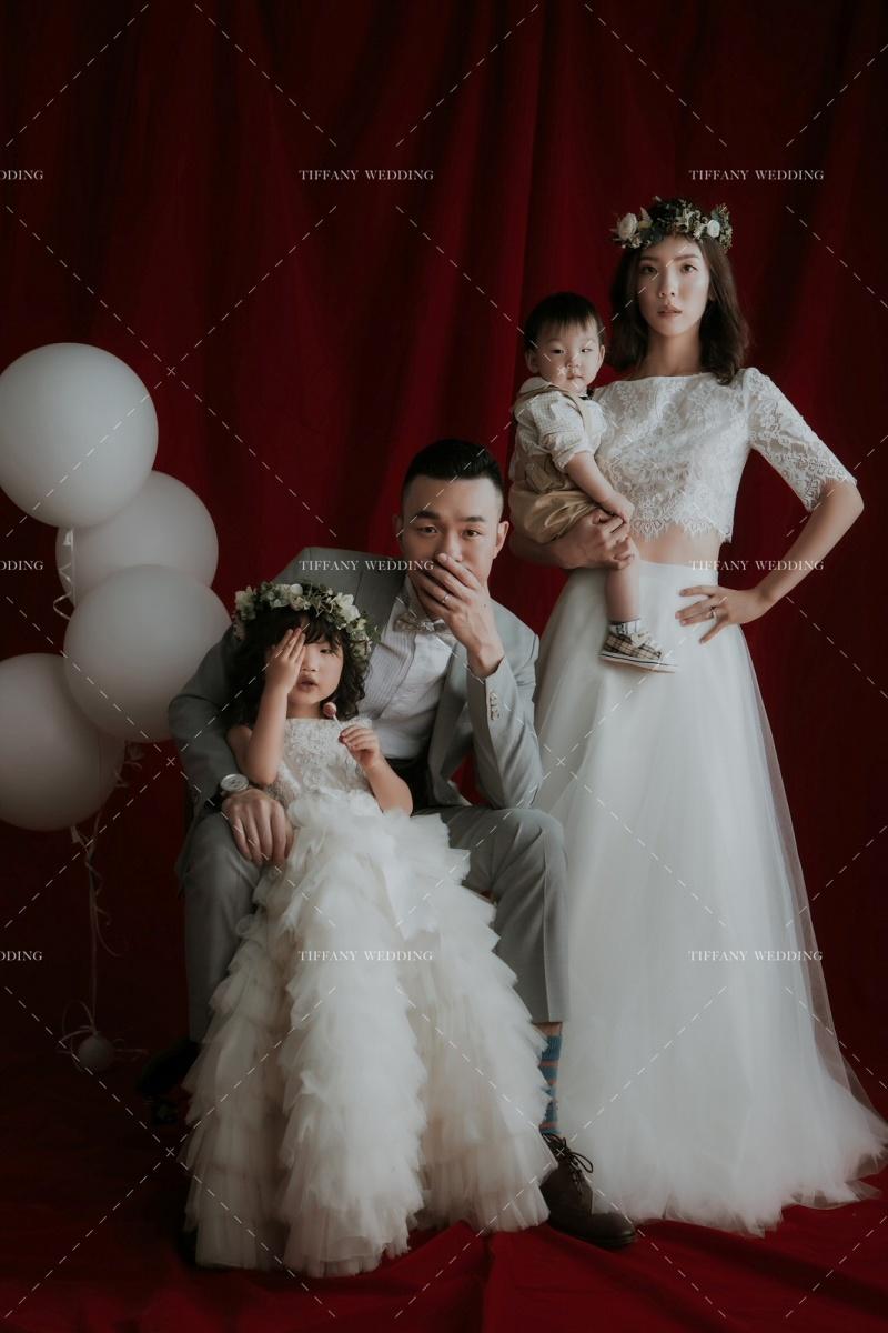 全家福 愛你很簡單 韓風全家福 紀念一家人的簡單幸福