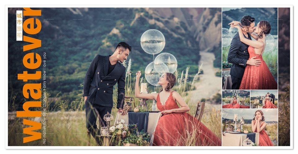 台中婚紗城市旅拍,原來這麼好拍!展現妳們的愛情風格