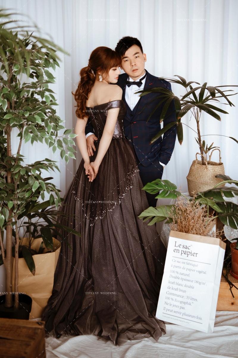 植物園感的婚紗攝影 來一場 Botanical Wedding