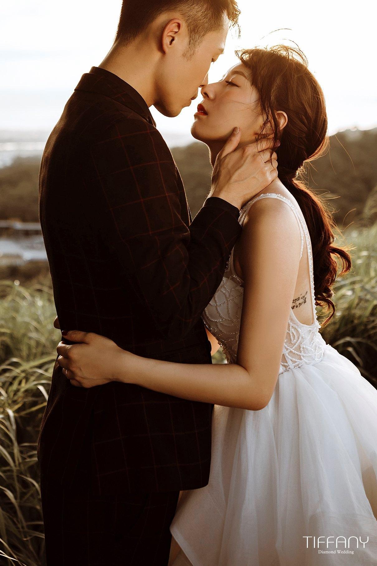 逆光婚紗-上天賜于的奇蹟之美-台中婚紗帝芬妮婚紗Diamond Wedding