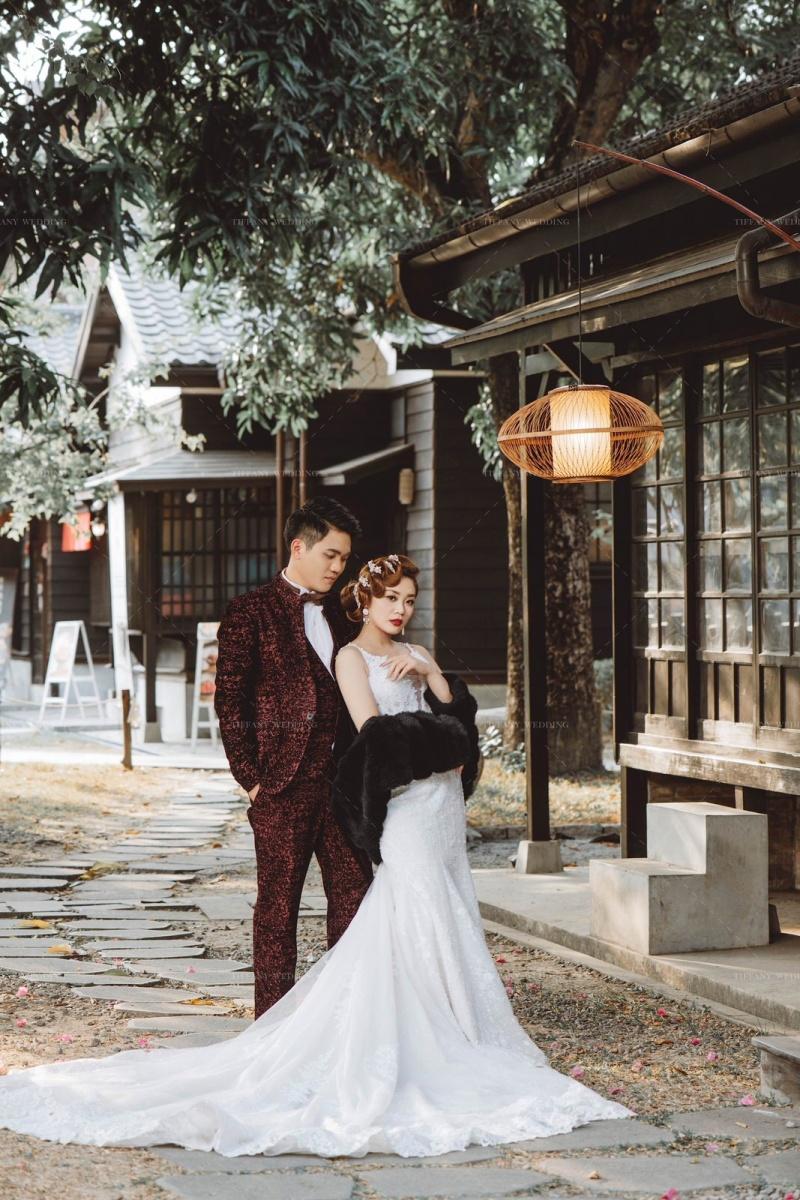 阿里山婚紗-絕美神木下復古婚禮