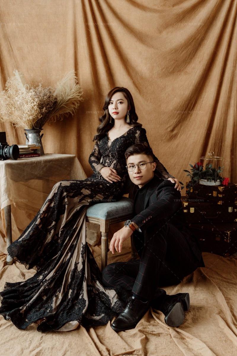 韓系婚紗-氣質韓式男女神婚紗照風格