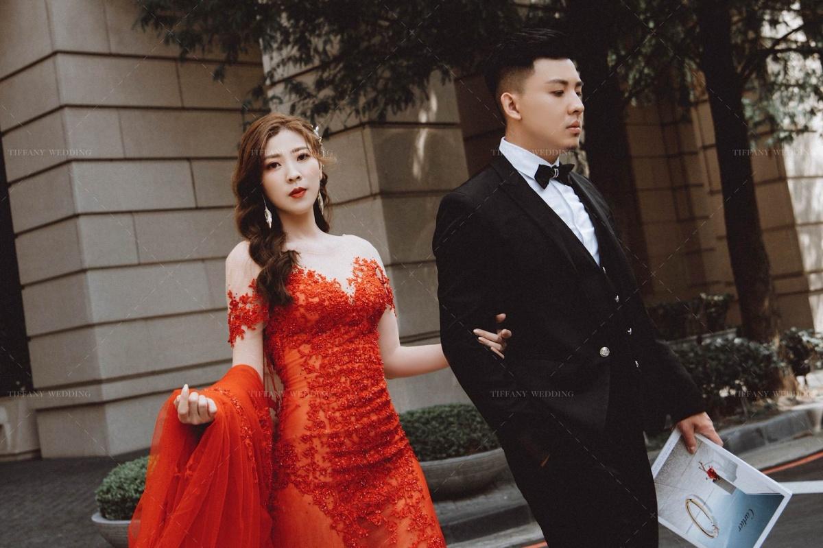 台中婚紗 城市街拍婚紗照分享 人像婚紗
