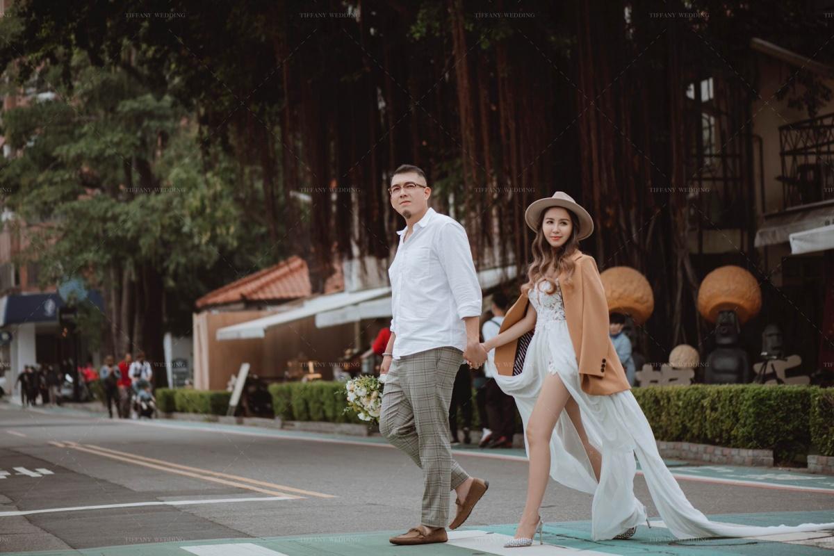 台中婚紗 城市街拍婚紗照分享 人像婚紗 文青婚紗