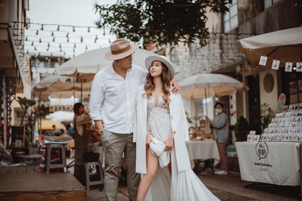 台中婚紗 城市街拍婚紗照分享 人像婚紗 文青婚紗 生活感婚紗