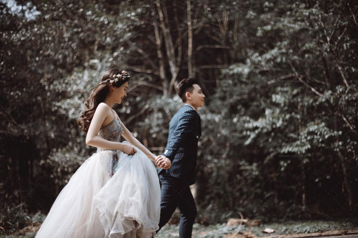 台中婚紗推薦-帝芬妮精品婚紗-現代婚紗禮的萬千風情