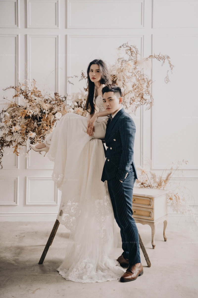 台中婚紗推薦 帝芬妮精品婚紗 現代婚紗裡的萬千風情