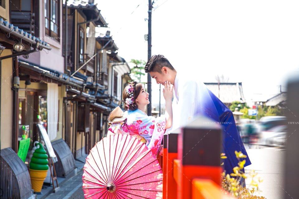 海外婚紗照攝影 日本景點 街景婚紗 疫情 台中婚紗帝芬妮婚紗