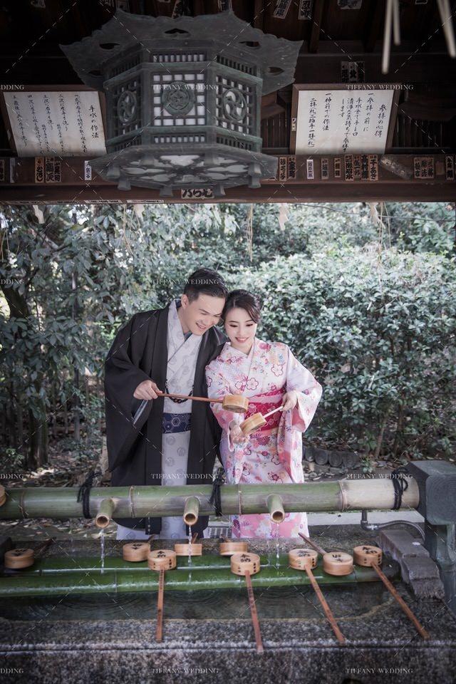 海外婚紗照攝影 日本景點 神社婚紗 疫情 台中婚紗帝芬妮婚紗