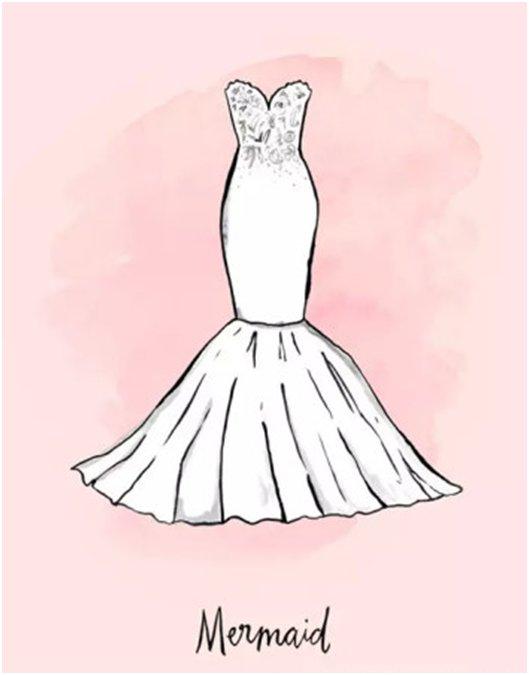新娘的秘密-身型沒告訴妳的事-亞洲梨型身材新娘這樣穿-2