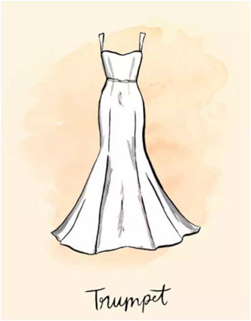 新娘的秘密-身型沒告訴妳的事-亞洲梨型身材新娘這樣穿-5