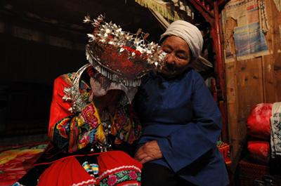 超奇特婚禮習俗 中國少數民族-哭嫁