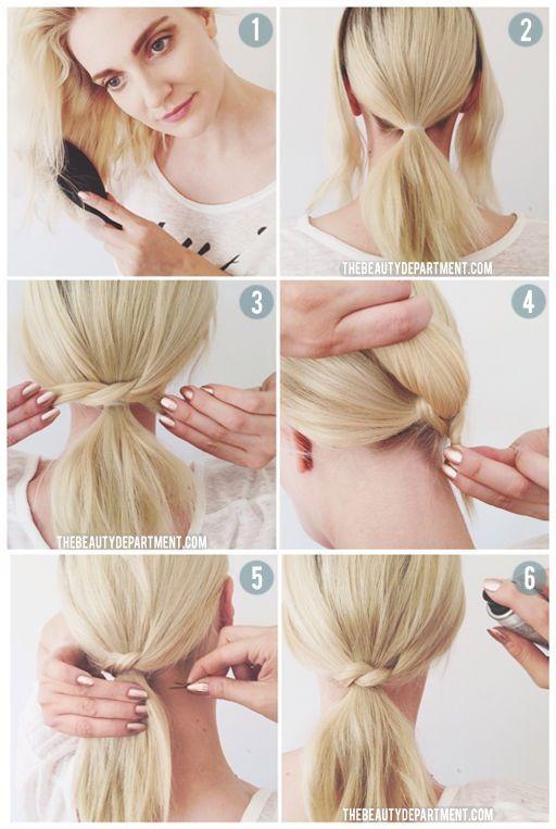 手殘女必學編髮 氣質低馬尾