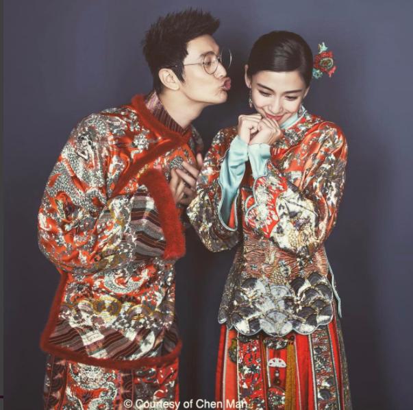 中式婚紗-風華絕輪-盤點10大女星中式婚禮-Angelababy-楊穎-1.jpg