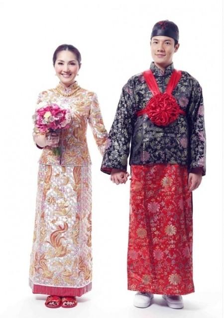 中式婚紗-風華絕輪-盤點10大女星中式婚禮-楊千樺-1.jpg